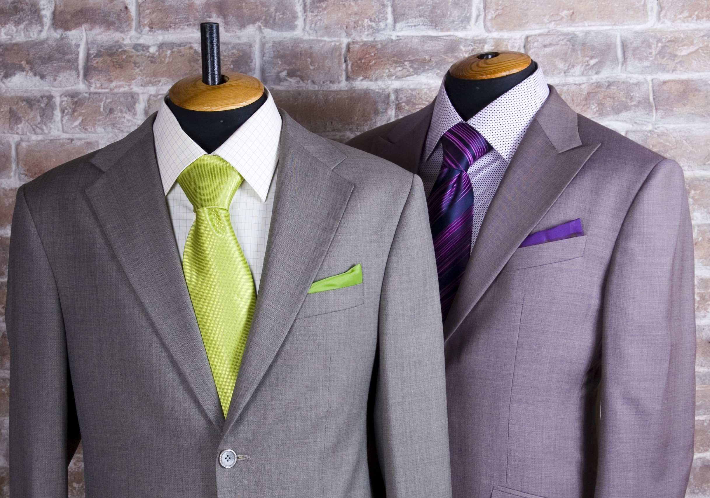 Gray Custom Made Suit